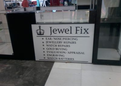 Jewel Fix pop store at the Liberty Midlands Mall